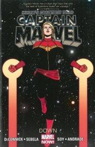 Cover of Marvel's Captain Marvel: Down