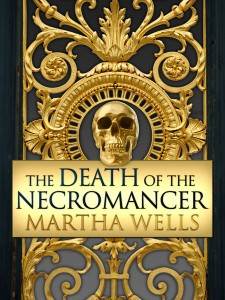 Cover of The Death of the Necromancer by Martha Wells