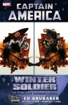 Cover of The Winter Soldier comic by Ed Brubaker