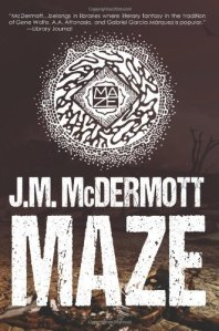 Cover of Maze by J.M. McDermott