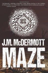 Cover of Maze by J.M. McDermott