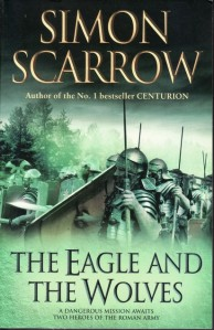 Cover of The Eagle and the Wolves, by Simon Scarrow