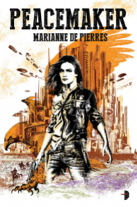 Cover of Peacemaker, Marianne de Pierres