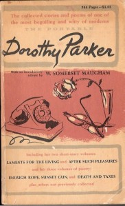 Cover of the Portable Dorothy Parker