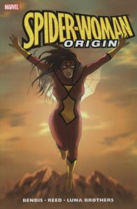 Cover of Spider-woman: Origin by Brian Michael Bendis
