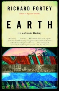 Cover of Earth: An Intimate History by Richard Fortey