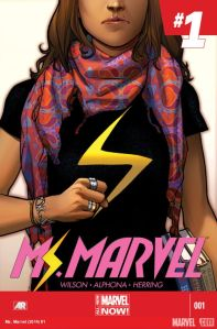 Cover of Ms Marvel issue #1