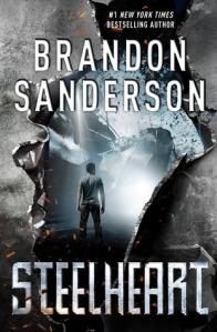 Cover of Steelheart by Brandon Sanderson