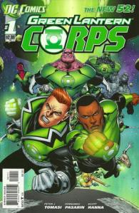 Cover of Green Lantern Corps: Fearsome