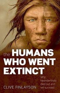 Cover of The Humans Who Went Extinct by Clive Finlayson