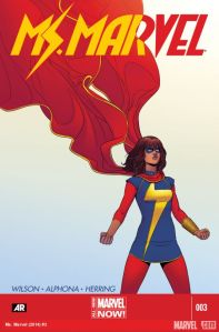 Cover of Ms Marvel Issue #3