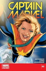 Captain Marvel issue #2