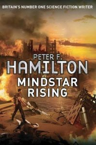 Cover of Mindstar Rising by Peter F. Hamilton