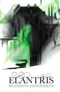 Cover of Elantris by Brandon Sanderson