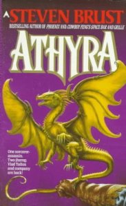 Cover of Athyra by Steven Brust