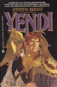 Cover of Yendi, by Steven Brust