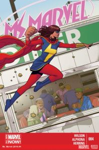 Cover of Ms Marvel issue four