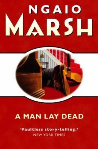 Cover of A Man Lay Dead by Ngaio Marsh