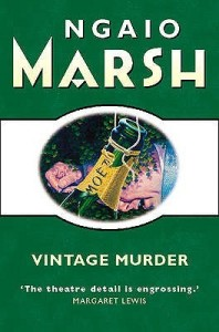 Cover of Vintage Murder, by Ngaio Marsh
