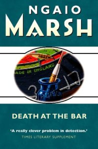 Cover of Death at the Bar, by Ngaio Marsh