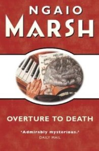 Cover of Overture to Death by Ngaio Marsh