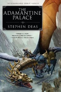 Cover of The Adamantine Palace by Stephen Deas
