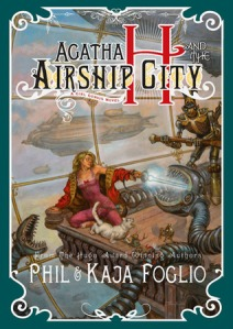 Cover of Agatha H and the Airship City by the Foglios