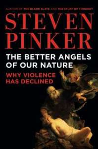 Cover of The Better Angels of Our Nature by Steven Pinker