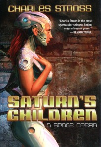 Cover of Saturn's Children by Charles Stross