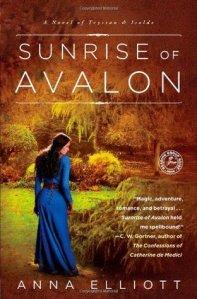 Cover of Sunrise of Avalon by Anna Elliott