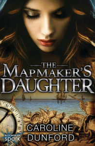 Cover of The Mapmaker's Daughter by Caroline Dunford