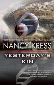 Cover of Yesterday's Kin by Nancy Kress