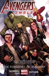 Cover of Avengers Assemble: The Forgeries of Jealousy