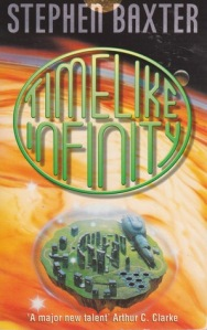 Cover of Timelike Infinity by Stephen Baxter