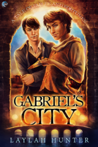 Cover of Gabriel's City by Laylah Hunter