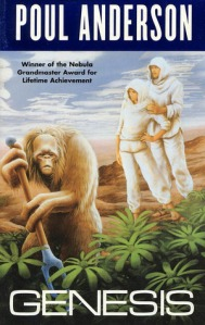 Cover of Genesis by Poul Anderson