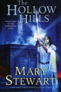 Cover of The Hollow Hills by Mary Stewart