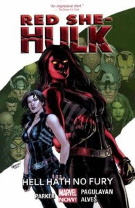Cover of Red She-Hulk: Hell Hath No Fury
