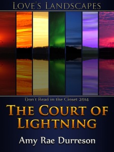 Cover of The Court of Lightning, by Amy Rae Durreson