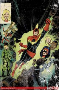 Captain Marvel 50th Anniversary