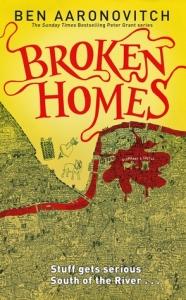 Cover of Broken Homes by Ben Aaronovitch
