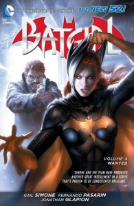 Cover of Batgirl volume 4 by Gail Simone