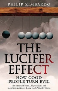 Cover of The Lucifer Effect by Philip Zimbardo
