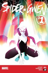 Cover of Spider-Gwen #1