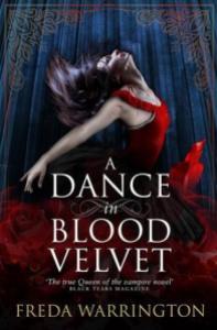 Cover of A Dance in Blood Velvet by Freda Warrington