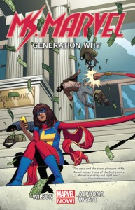 Cover of Ms Marvel: Generation Why by G. Willow Wilson