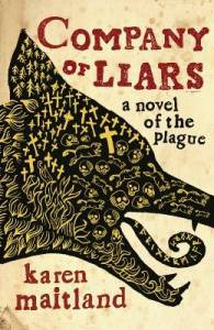 Cover of Company of Liars by Karen Maitland