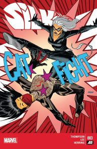 Cover of Silk, Marvel comic
