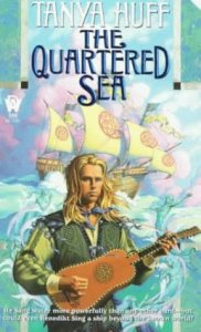 Cover of The Quartered Sea by Tanya Huff
