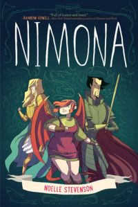 Cover of Nimona by Noelle Stephenson
